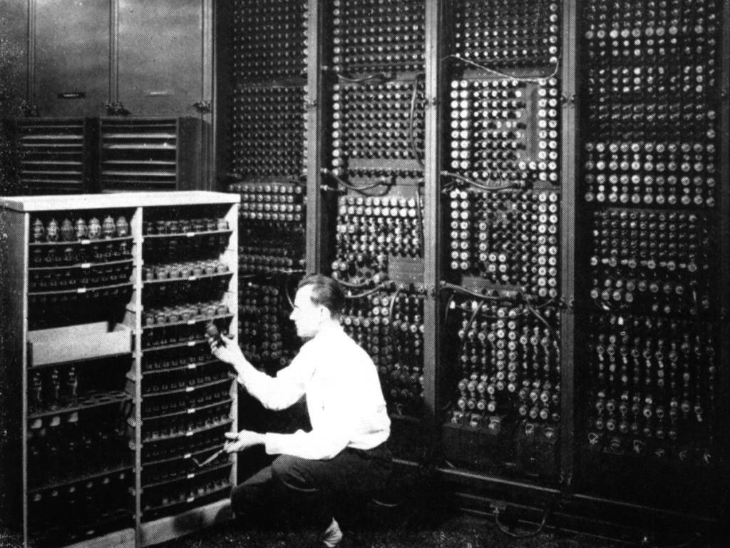 Panel de control de la ENIAC