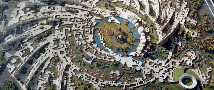 auroville diseño urbano