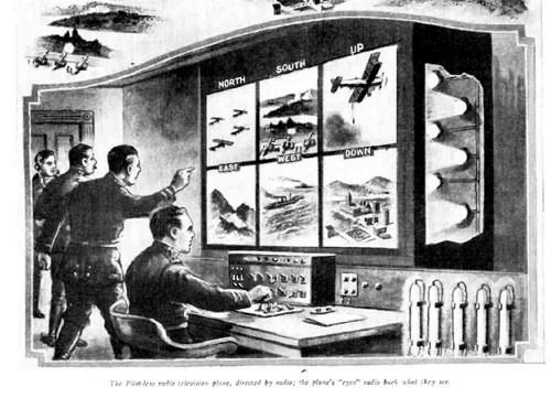 drones en 1924