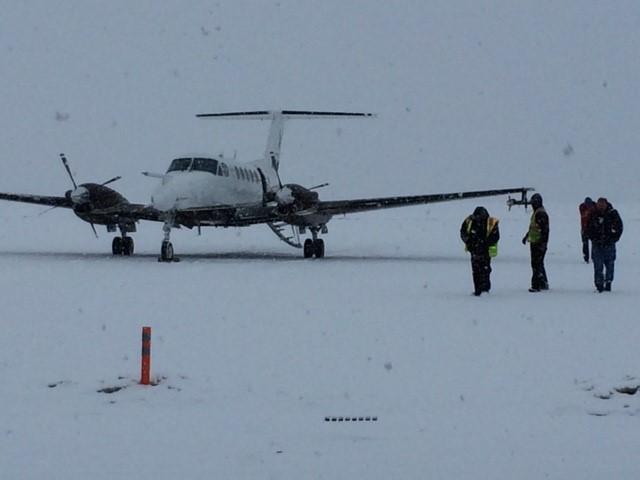 avioneta del proyecto snowie