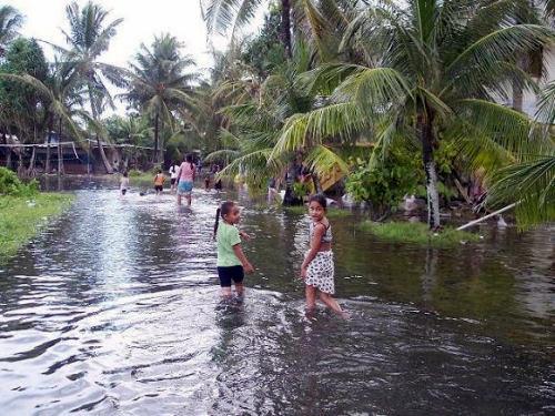inundaciones en tuvalu