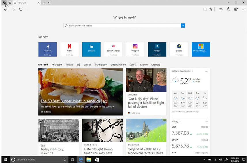 Microsoft Edge ha ganado en estas características al resto de navegadores