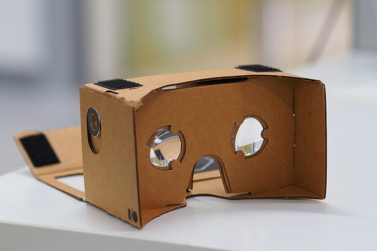 tecnologías cardboard realidad virtual
