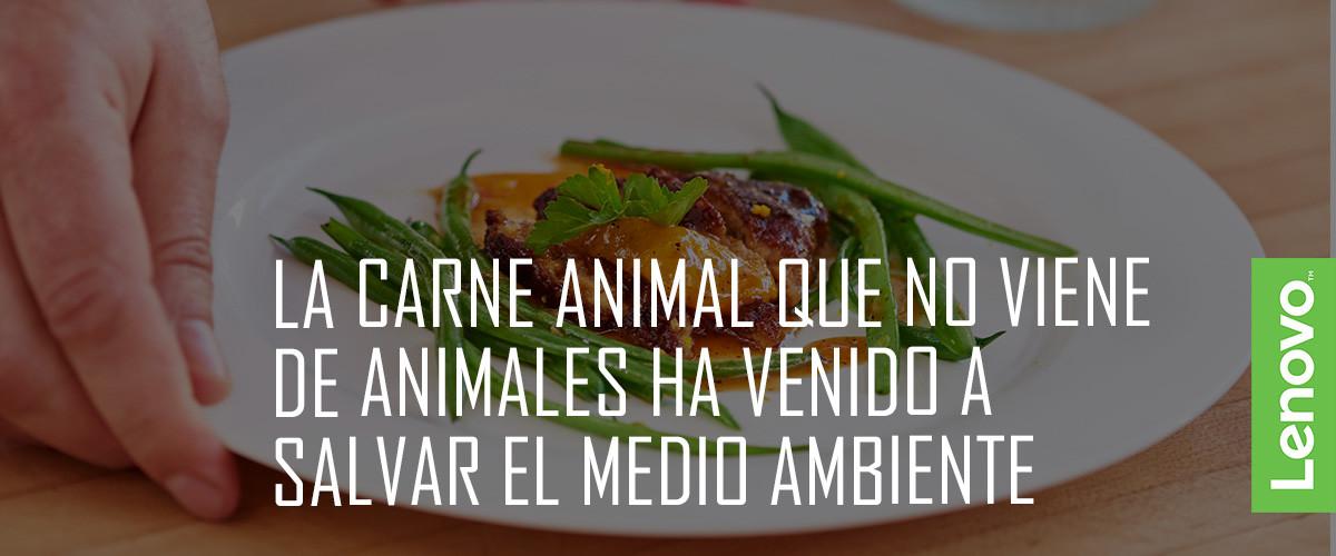 filete sintético carne laboratorio