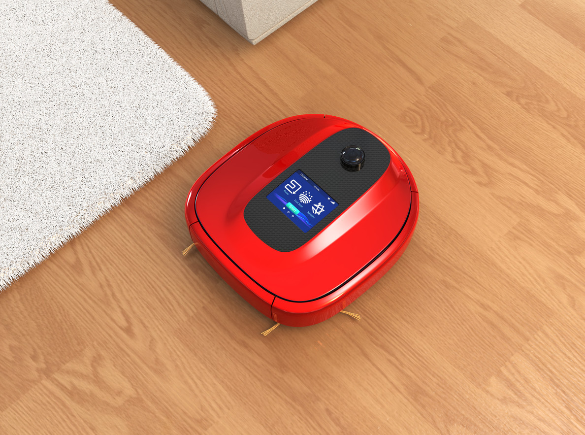 robot de limpieza doméstico iot