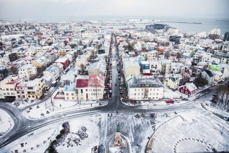 capital de islandia nevada
