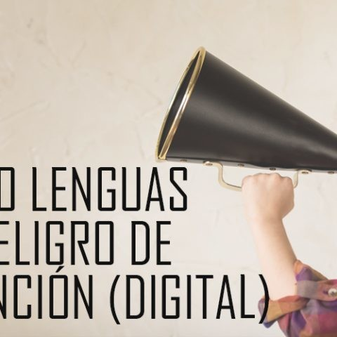 extincion digital idiomas