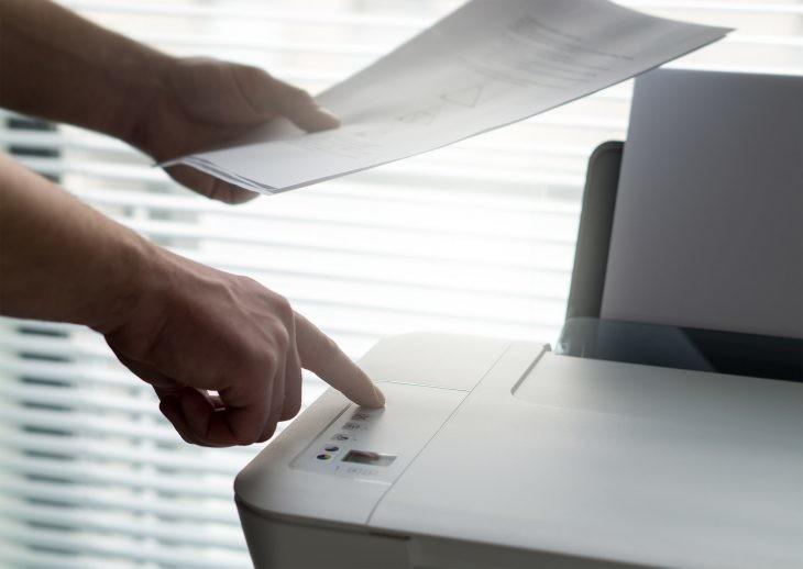 Cómo conectar la impresora en red