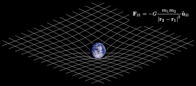 el espacio se alabea mentiras desmontadas por la ciencia