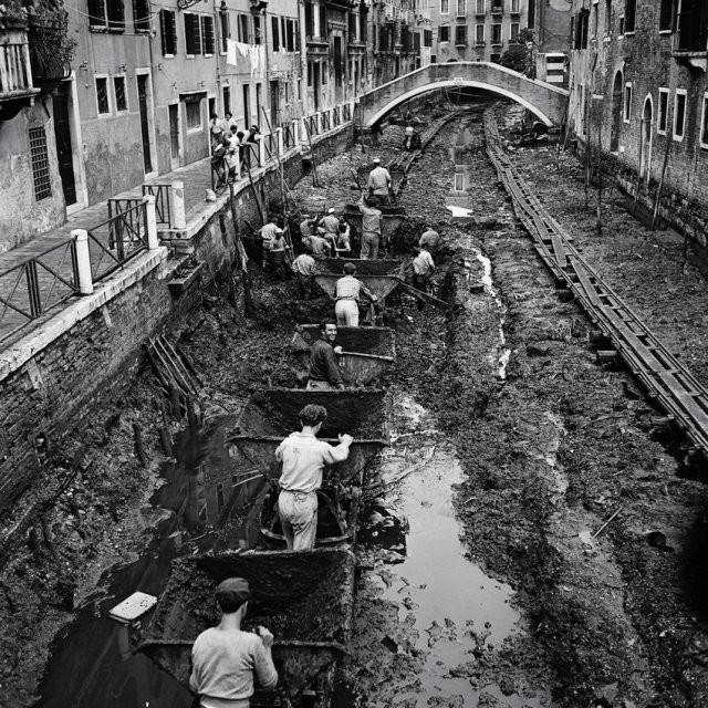 dragado canal venecia