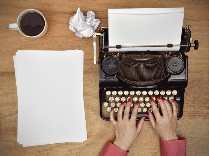 olvidando de escribir