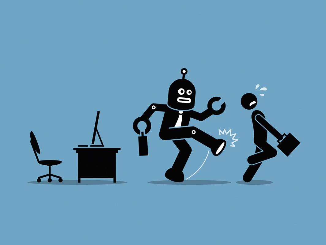 robot periodista despido humano