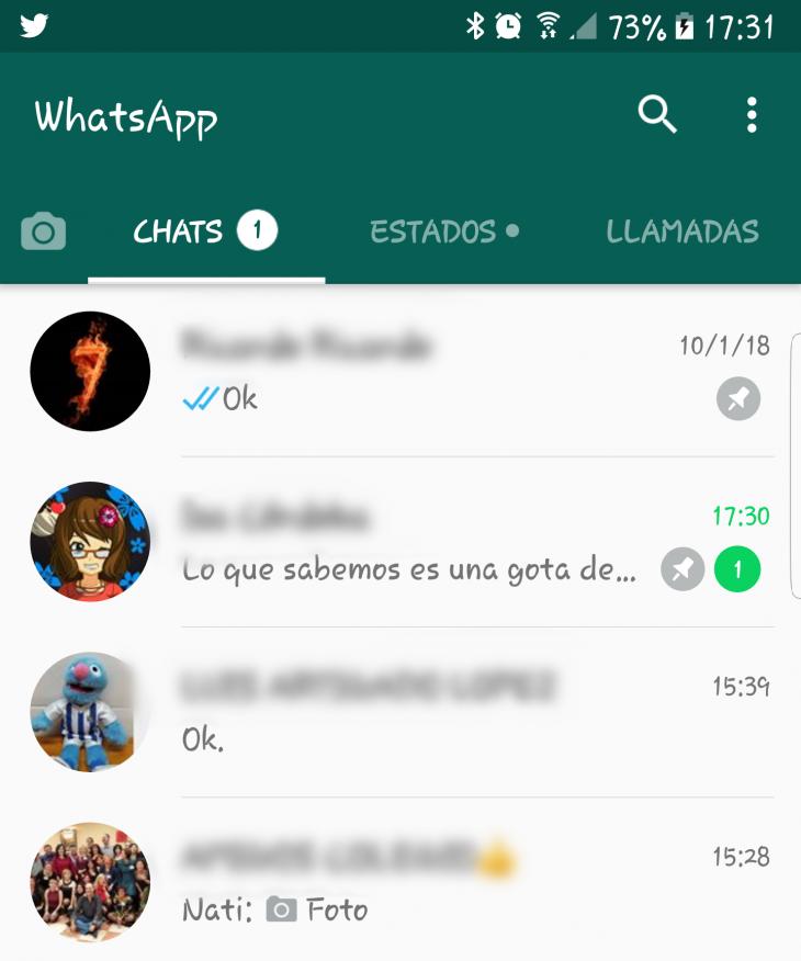 WhatsApp: cómo fijar las conversaciones favoritas en la parte superior de la pantalla