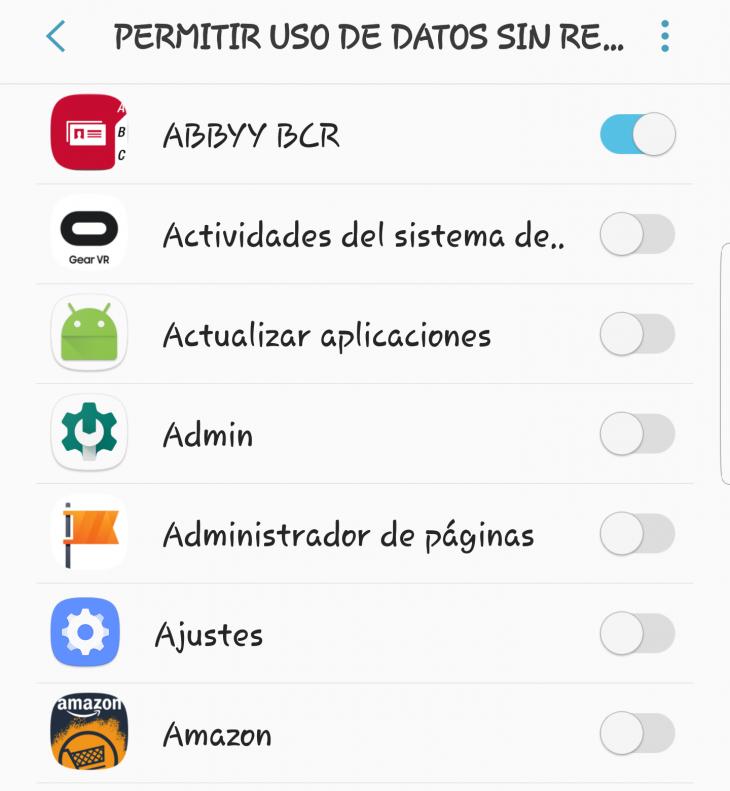 Cómo monitorizar (y reducir) el uso de datos en Android