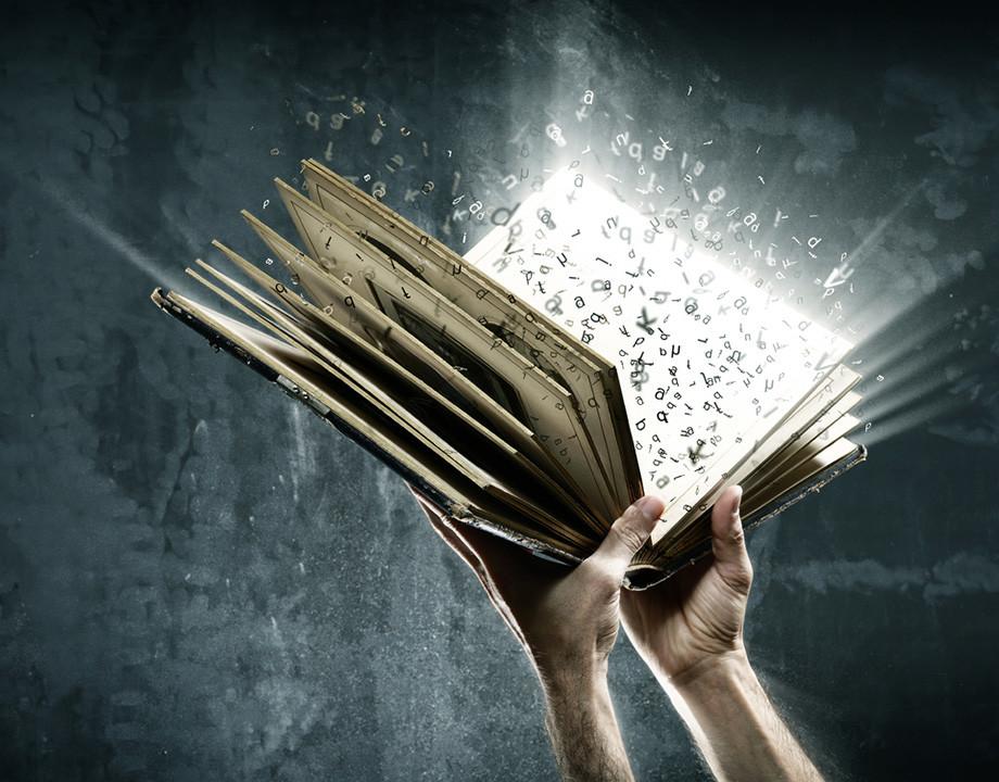 conjuro magia palabras instrucciones tecnologia