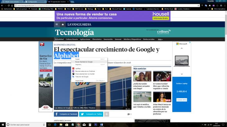 Las funciones mas utiles de Google Chrome que te gustaria conocer