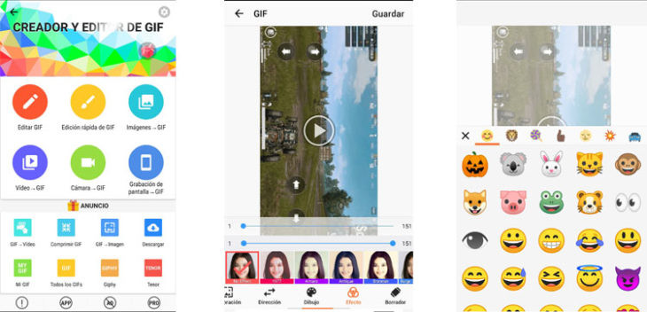 Aplicaciones para crear GIFs de forma sencilla