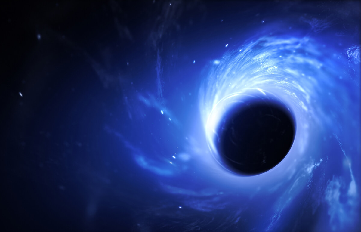 un agujero negro es una entrada al multiverso