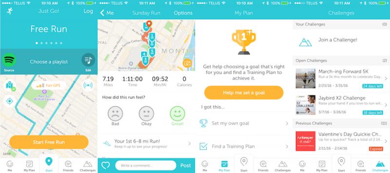 5 aplicaciones para corredores