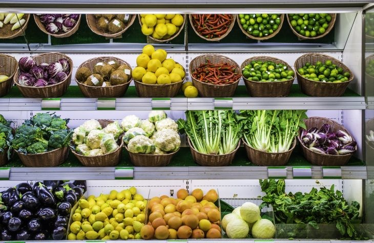 etiquetado láser en frutas