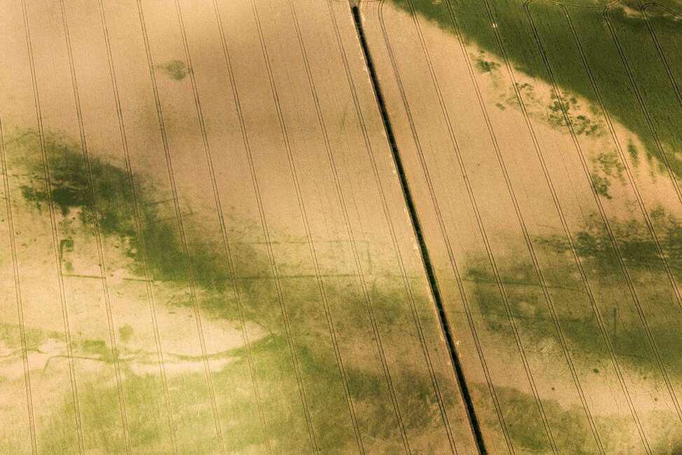arqueología aérea en inglaterra