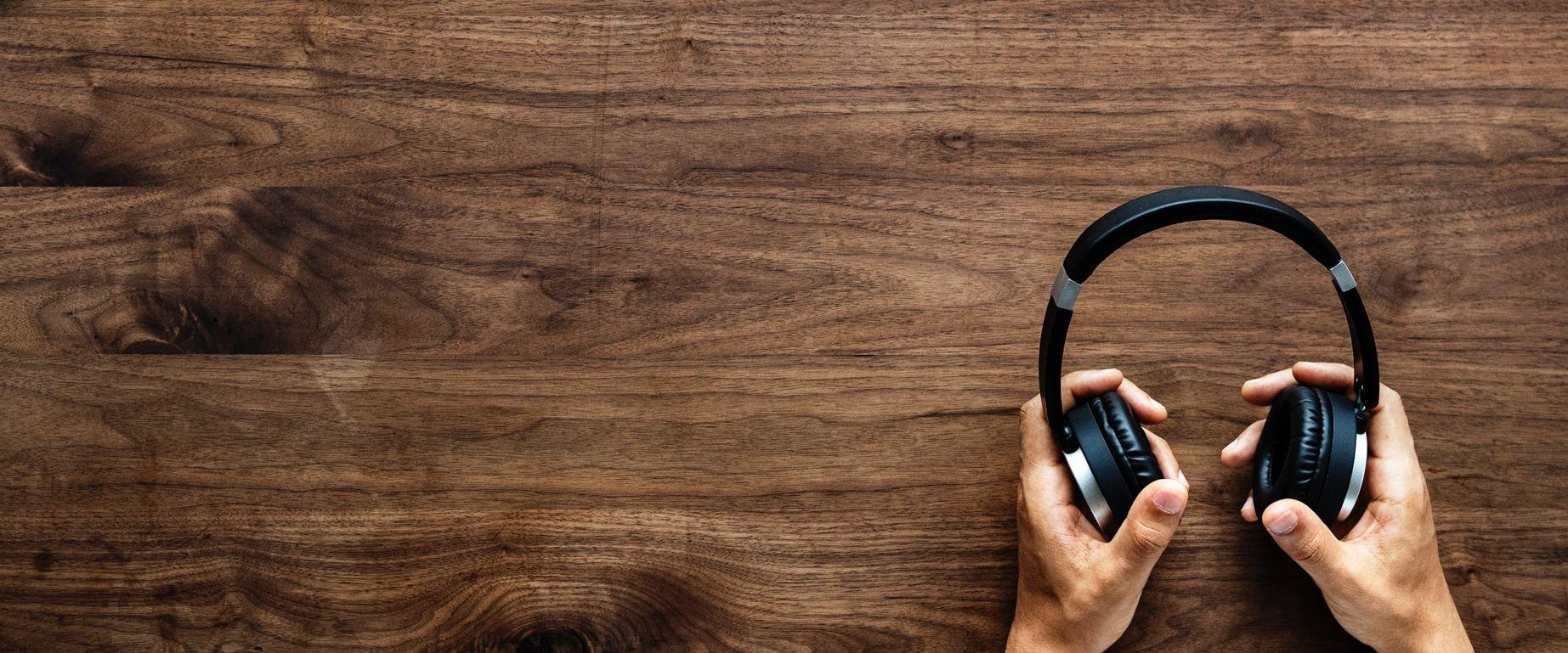 Auriculares sin cables. La industria de la música se ha favorecido mucho de la tecnología 'wireless'.