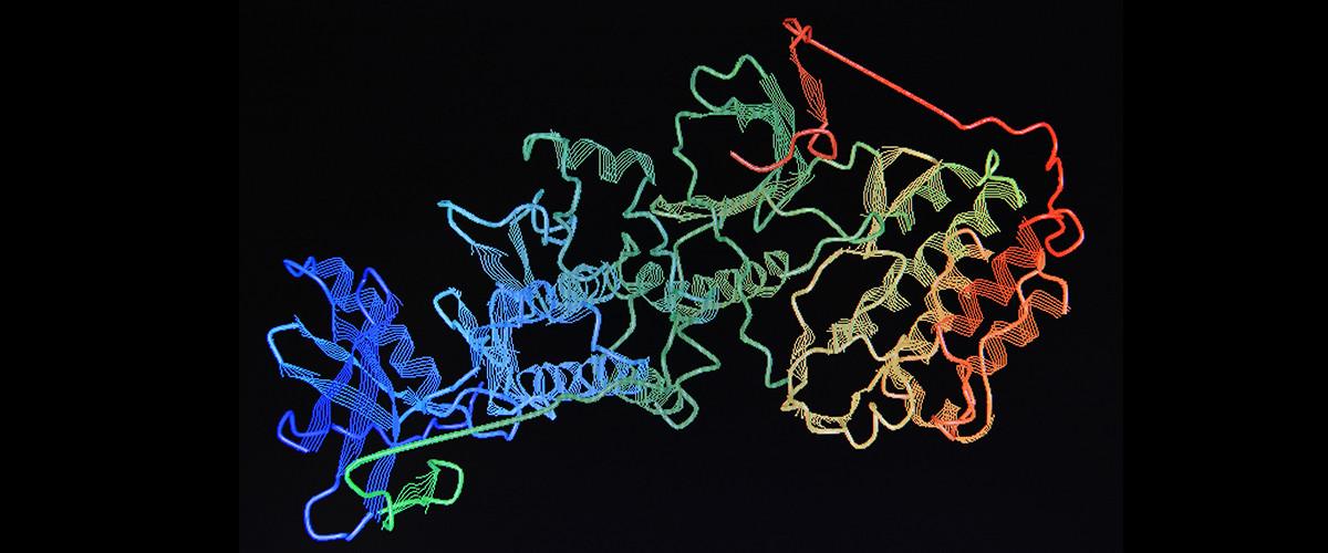 inteligencia artificial plegar proteinas AlphaFold