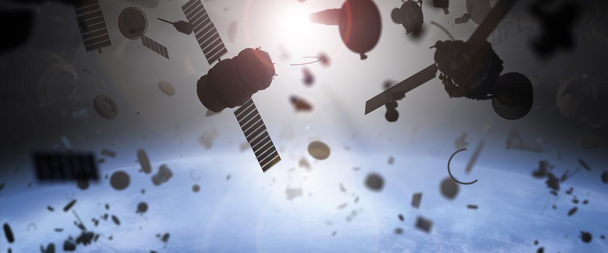 problema basura espacial residuos