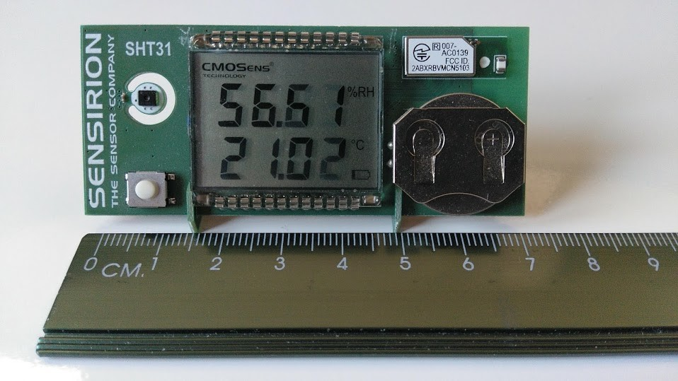 sensor temperatura tamano