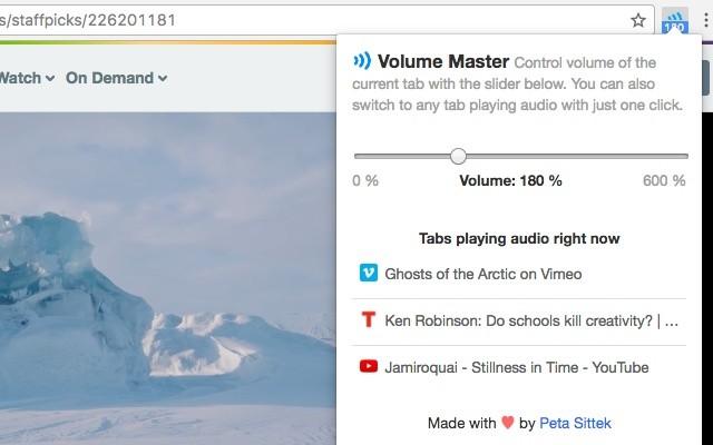 Cómo aumentar el volumen de tu ordenador desde Google Chrome