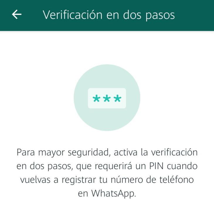 Cómo recuperar tu PIN de WhatsApp olvidado