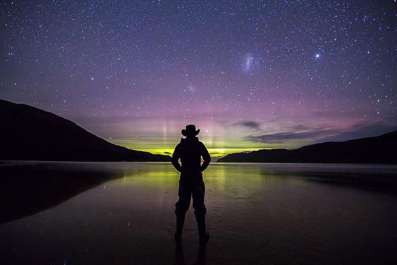 auroras en Australia tras una tormenta solar