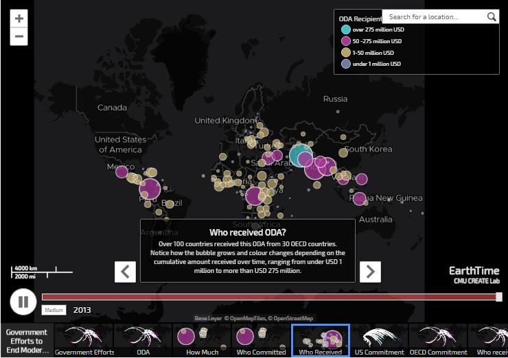 Mapas para acabar con la esclavitud.