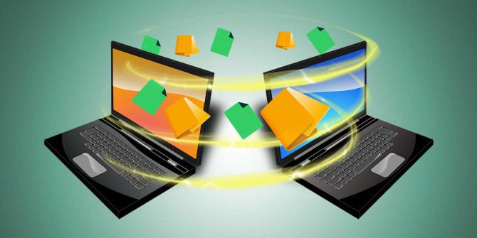 Compartir archivos entre ordenadores