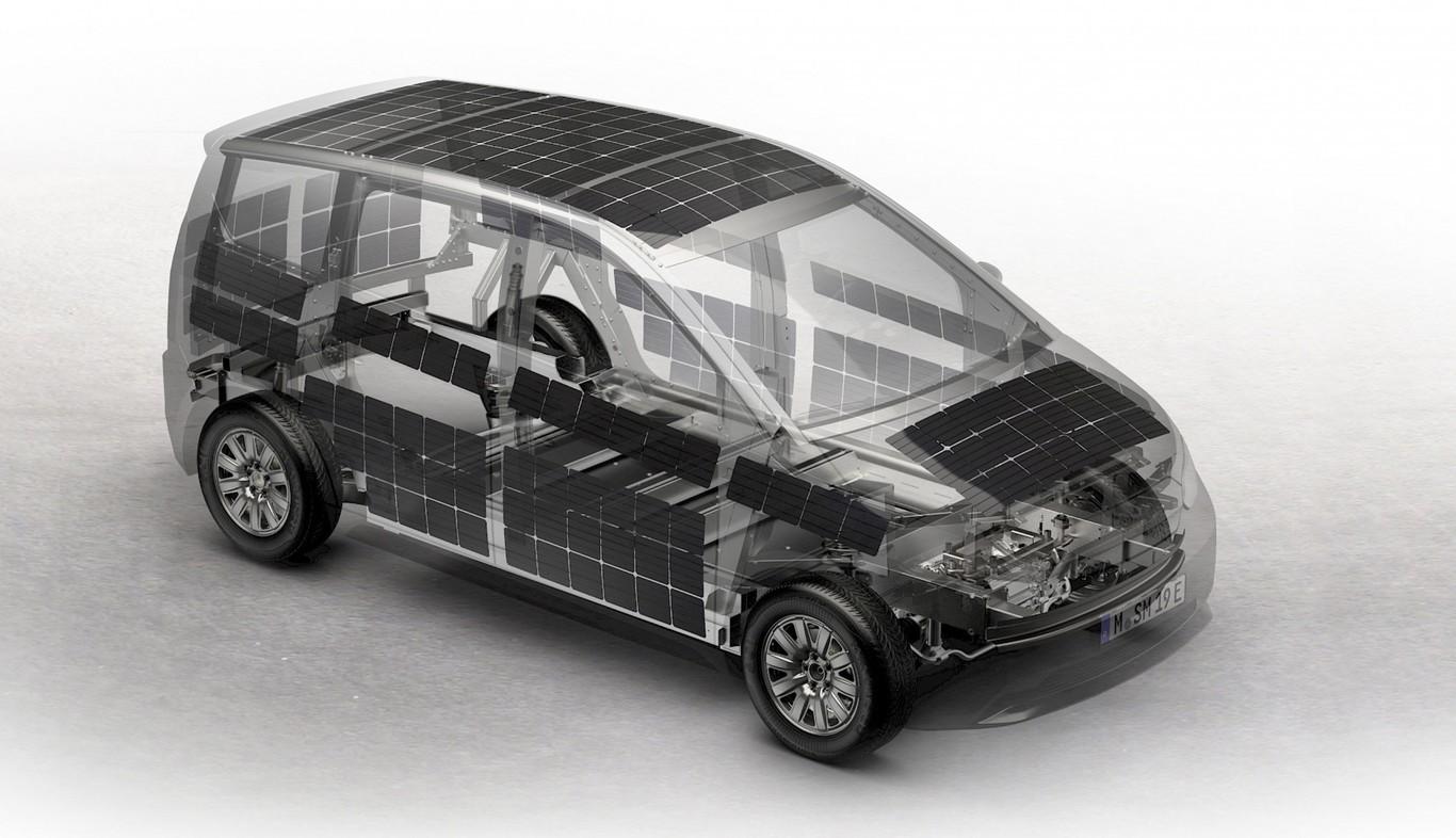 sono sion coche recarga solar