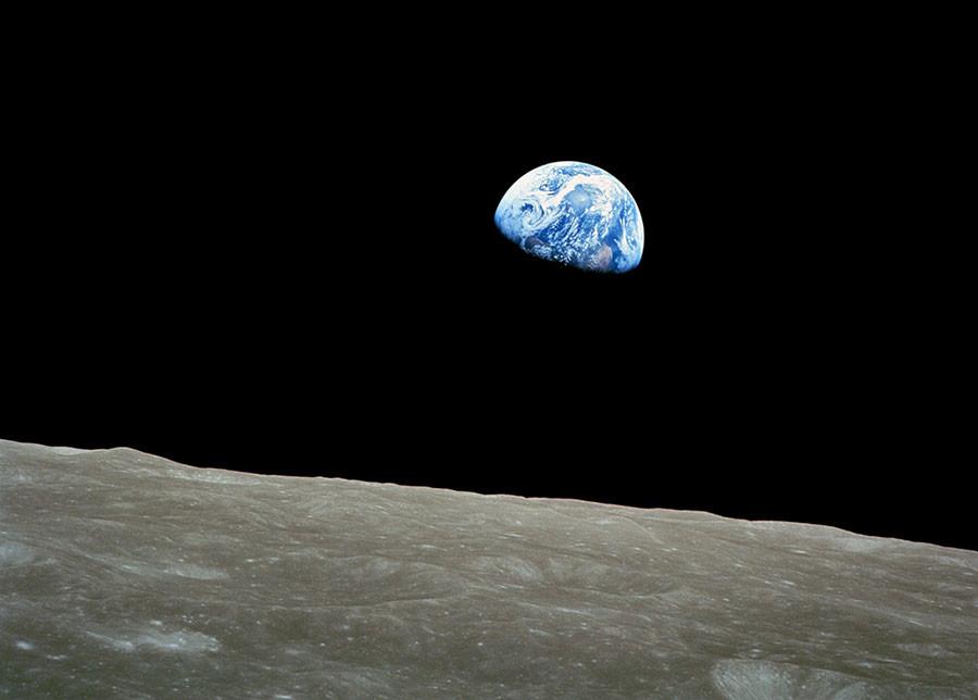 estación de Fresnedillas recibe foto de la Tierra