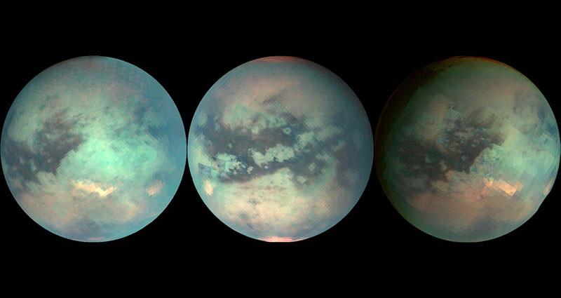 agua en el sistema solar, el caso de Titán