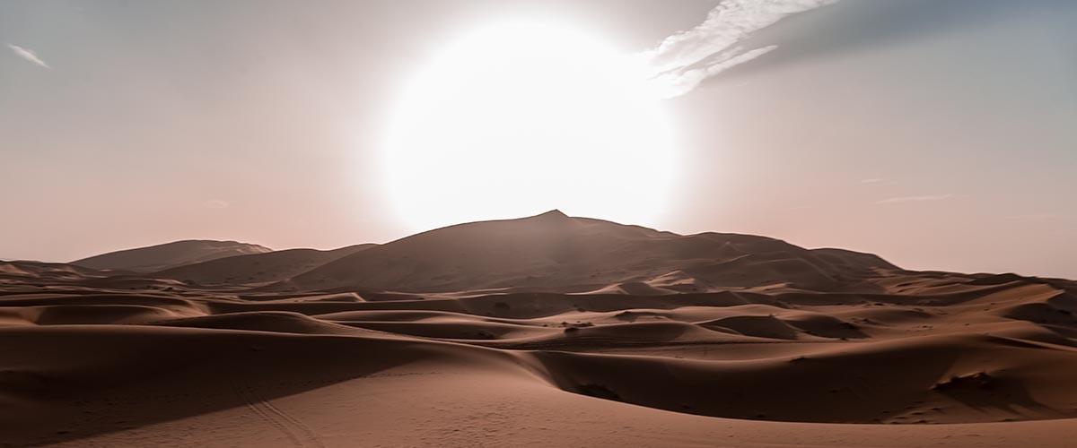 energía solar en el Sahara