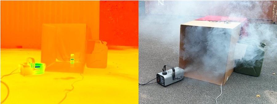 smokebot detección de incendios