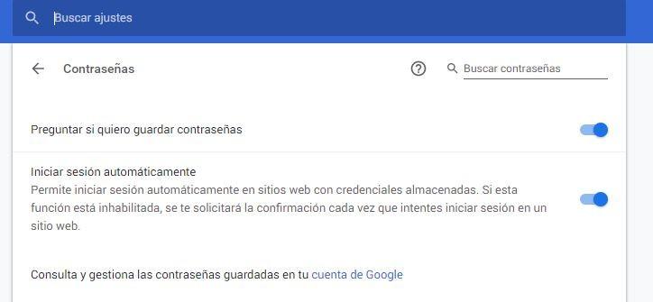 crear contraseñas seguras con Google Chrome