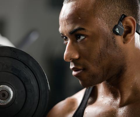 ¿Cómo funcionan los auriculares de conducción ósea?