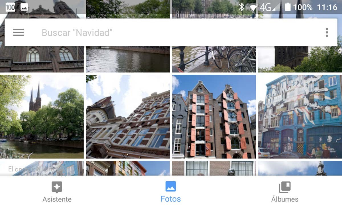 encontrar rápidamente en Google Fotos