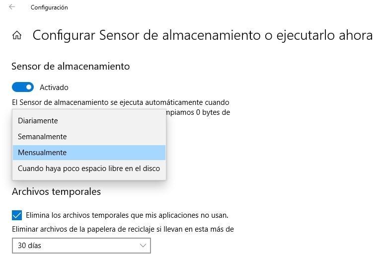 automatizar tareas de mantenimiento en Windows 10
