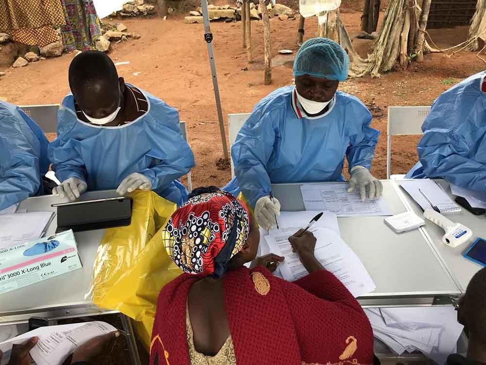 vacunación para reducir el riesgo de ébola