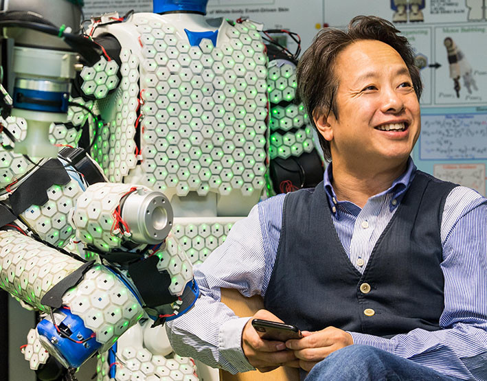 Gordon Cheng robot piel mecanica