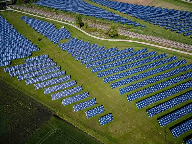 paneles solares de energía