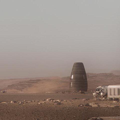 viviendas en Marte
