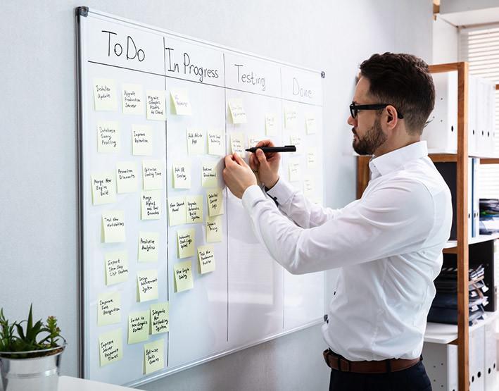agile tablero kanban empresas