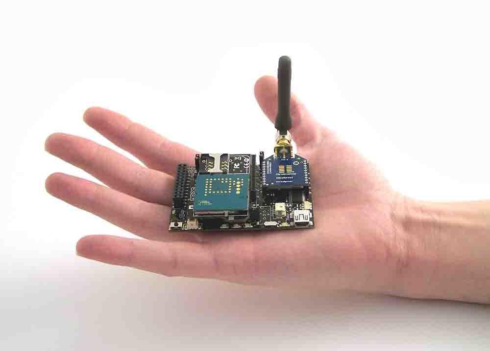 Dispositivo de Libelium, empresa cocreada por Alicia Asín y David Gascón.