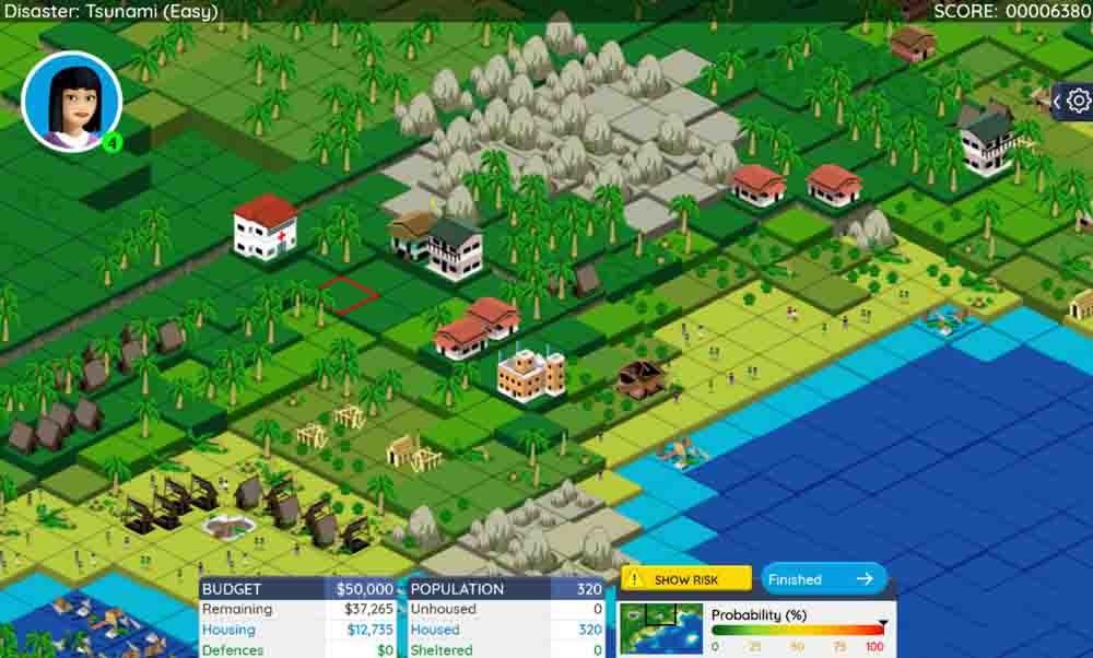 'Stop Disasters!', un juego que promueve la educación ambiental.